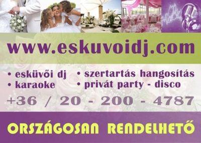 esküvői reklám